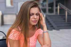 Головная боль в области лба и висках