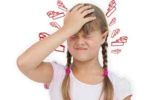 Если у ребенка мигрень