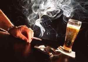 Избегайте курения и алкоголя