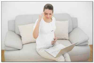 Какие причины головных болей во время беременности