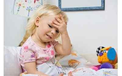 Причины высокой температуры и боли головы у детей