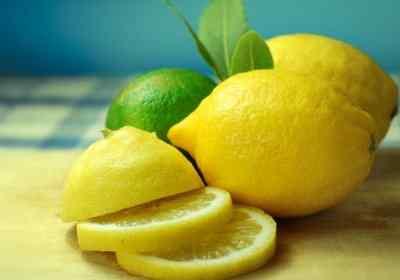 Лимонная цедра на виски
