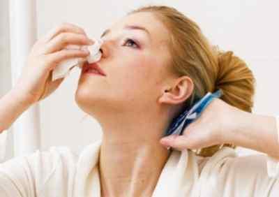 Болит голова и кровь из носа – причины и первая помощь