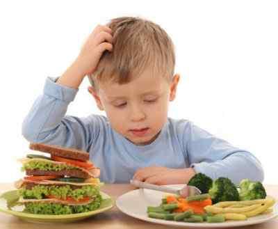 Нарушение питания дитя
