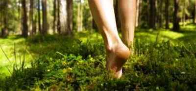 Точки на стопах или почему полезно ходить босиком
