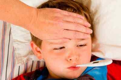 Тревожные симптомы у ребенка – температура 38 и болит голова