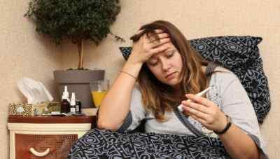 Почему болит голова во время гриппа