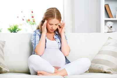Возникновение головных болей при беременности
