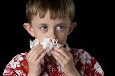Особенности носовых кровотечений у детей