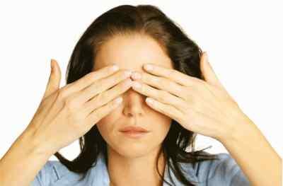 Когда стресс поражает глаз