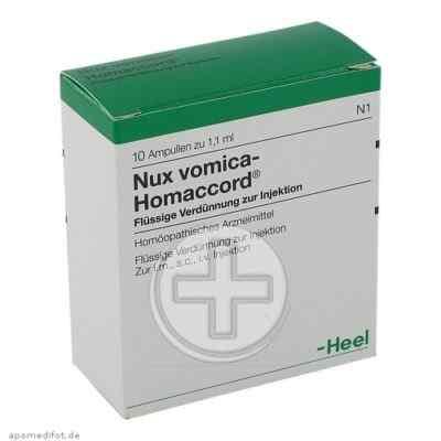 Нукс вомика – лекарство от головной боли от переутомления
