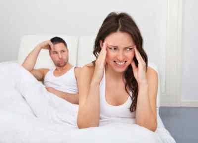 Во время секса сильно болит голова у мужчины