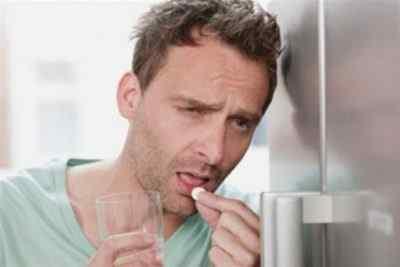 Лекарственные препараты от похмельной боли головы