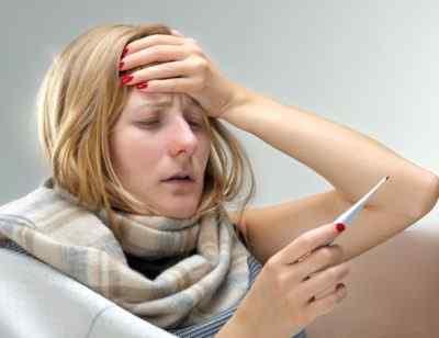 Высокая температура и головная боль