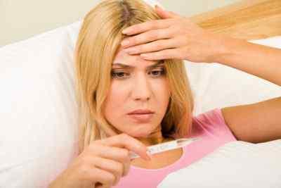 Причины температуры и головной боли