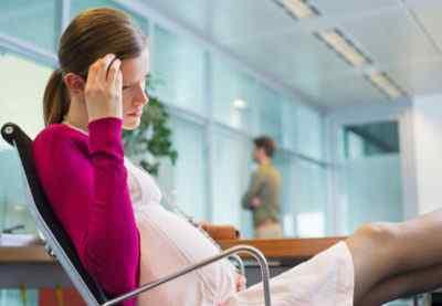 Головная боль в висках во время беременности