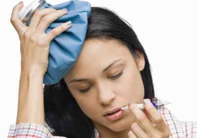 Головная боль и субфебрильная температура