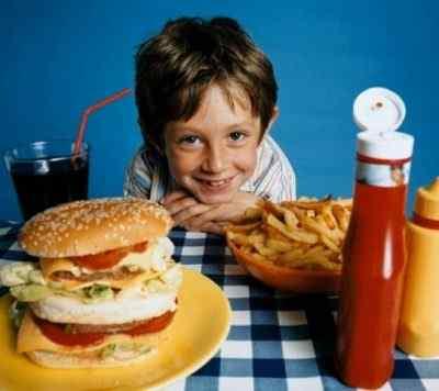 Вредные для детей продукты