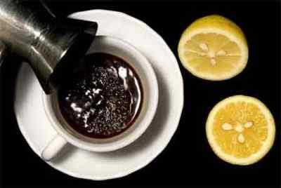Кофе с лимонным соком