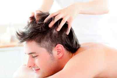 Массаж головы при мигрени – виски и лоб