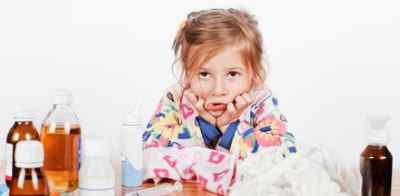 Протекание гриппа у ребёнка