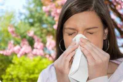 Кашель, заложенность носа, температура и слабость – это симптомы аллергии на пыльцу