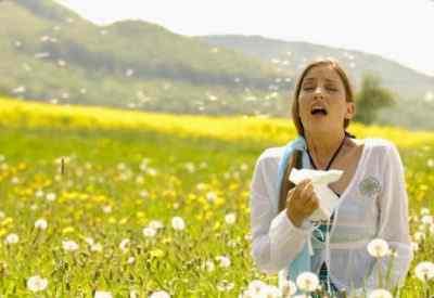 Аллергия на пыльцу и продукты питания