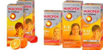 Что такое Нурофен детский и когда его принимать