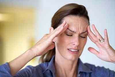 Локализация боли при мигрени