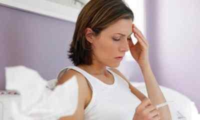 Почему болит голова при высокой температуре