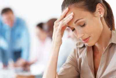 Головная боль с напряжением и давлением