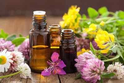 Цветы и ароматные масла