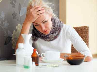 Народные методы против головной боли во время гриппа