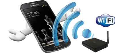 Мобильный телефон, Wi-Fi сеть