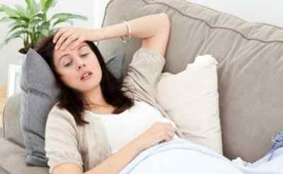 Если при беременности болит голова